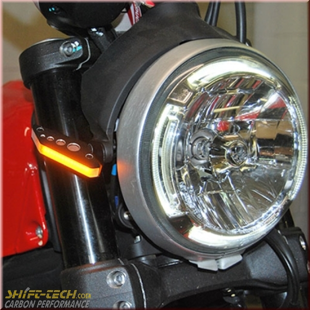 St1185 Scrambler 800 400 Front Led Turn Signal Kit Shift