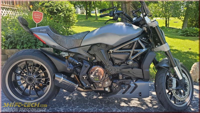 xdiavel - shift-tech carbon
