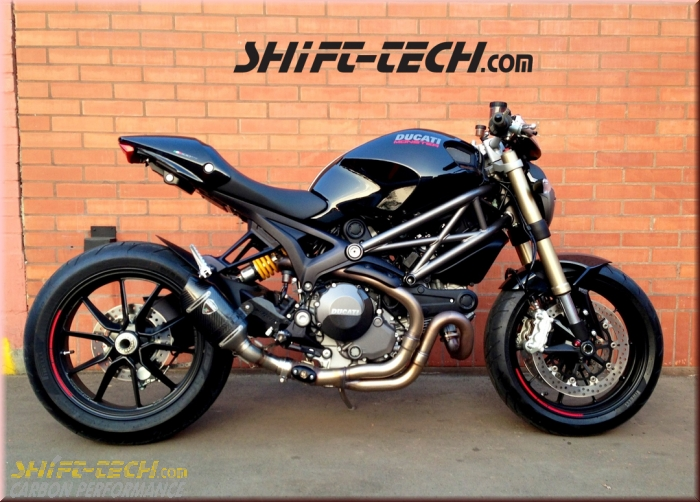 Ducati Monster Cafe Racer Auspuff